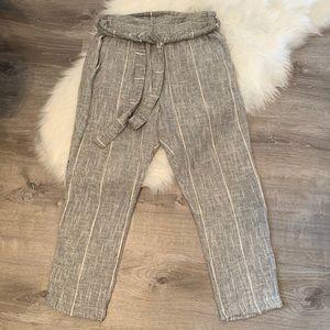 Free People women's light gray pants